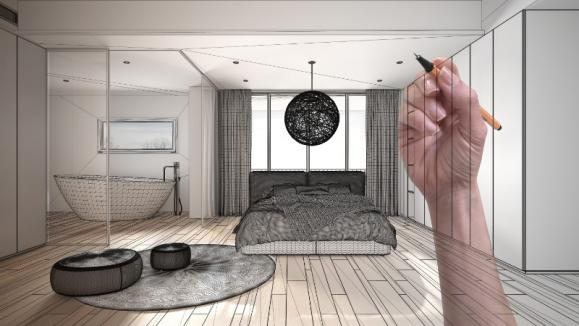 plan intérieur maison